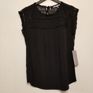 Daniel Rainn black sleeveless top